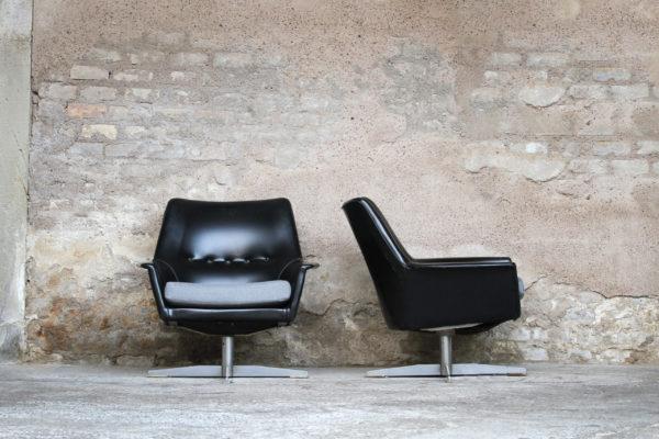 Lot_2_fauteuils_ministre_noir_gris_vintage_retro_design_annee_50_60_70_original_gentlemen_designers_strasbourg_alsace_handschuheim_paris_01