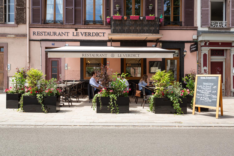 Restaurant Le Verdict | Strasbourg <BR> projet réalisé en 2020