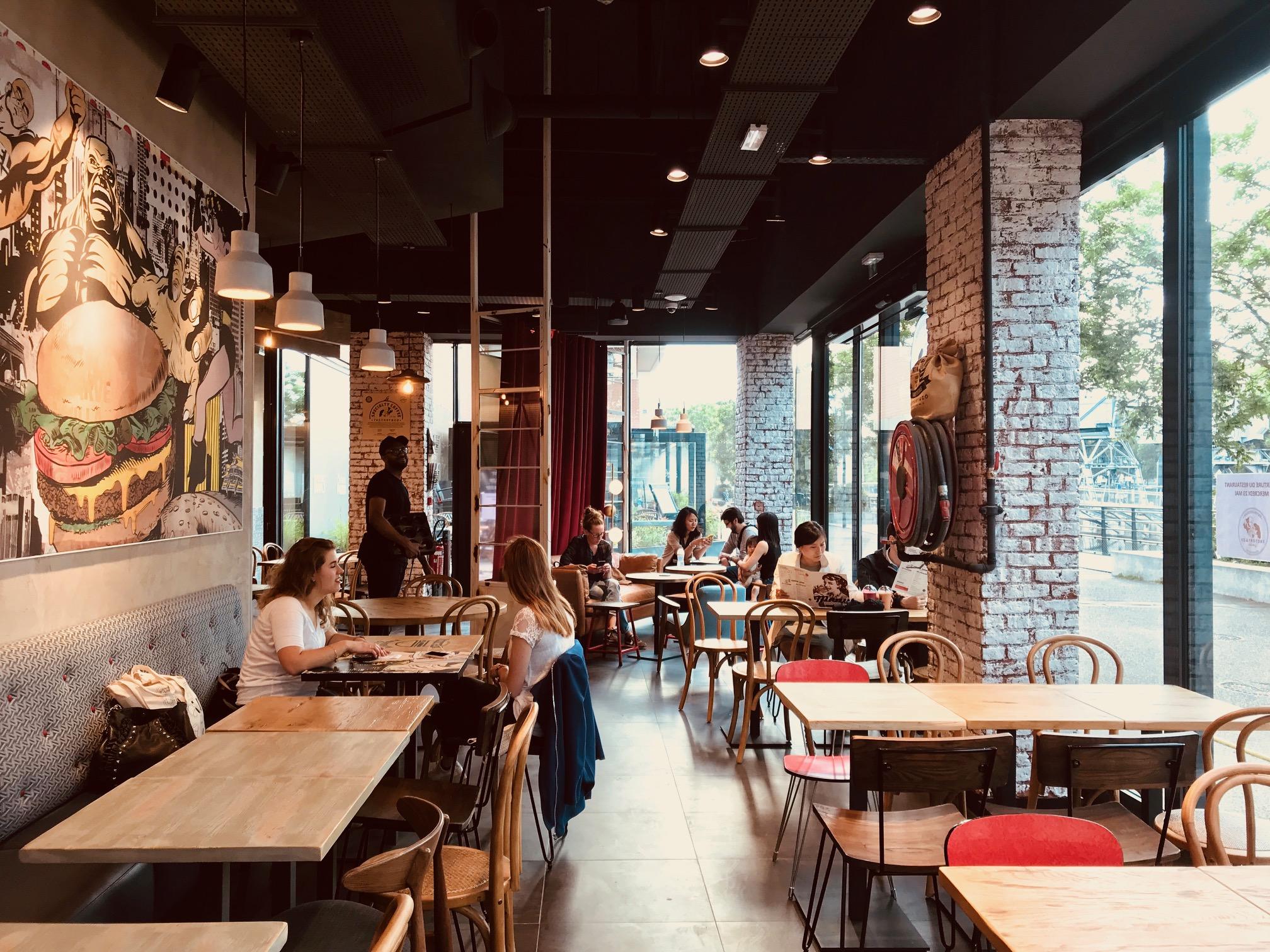 Restaurant Factory & Co | Strasbourg <BR> projet réalisé en 2018